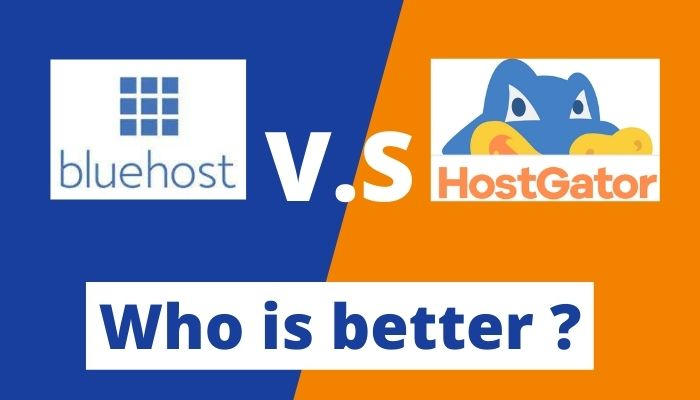 Best hosting for WordPress->>Bluehost vs. HostGator